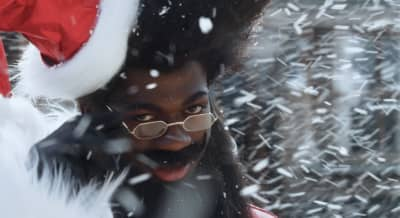 """Lil Nas X becomes Santa in the trailer for new song """"Holiday"""""""