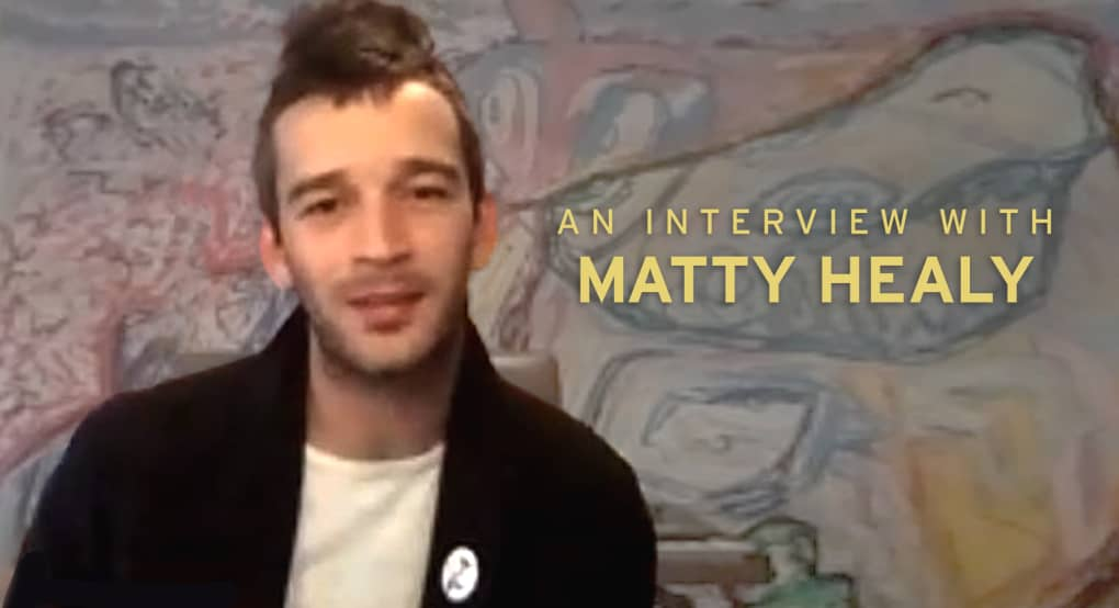 Matty Healy of The 1975 is asking pop's existential questions