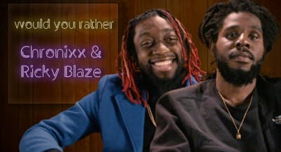 Chronixx and Ricky Blaze on the one riddim they wish they'd created