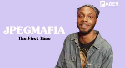 Watch JPEGMAFIA share his come up story in The First Time