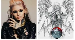 Grimes has changed the cover art for her latest album, Miss Anthropocene