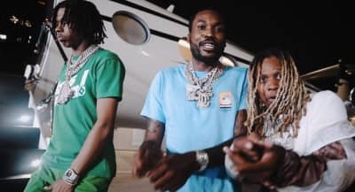 """Meek Mill connects with Lil Baby and Lil Durk on """"Sharing Locations"""""""