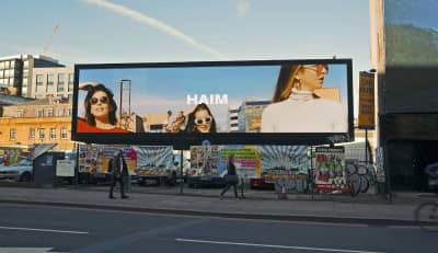 Haim Are Teasing Something New On Billboards Around The World