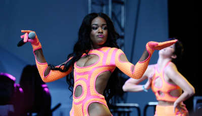 "Azealia Banks dials up the heat on her new single ""Salchichon"""
