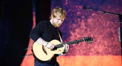 Ed Sheeran's Game of Thrones character's face presumably burned off by dragons