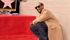 Snoop Dogg thanks himself for his new star on the Hollywood Walk Of Fame