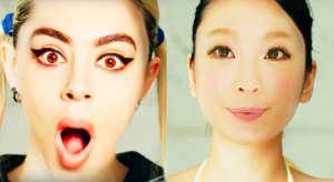 "Watch Charli XCX & Kyary Pamyu Pamyu's Mind-Bending ""Crazy Crazy"" Video"