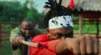 "Watch Davido and Mayorkun interpolate The Karate Kid in their new video for ""The Best"""