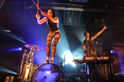 "Matt and Kim share extended version of ""Happy If You're Happy"" with Skizzy Mars"