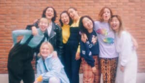 """CHAI and Hinds join forces on new single """"UNITED GIRLS ROCK'N'ROLL CLUB"""""""