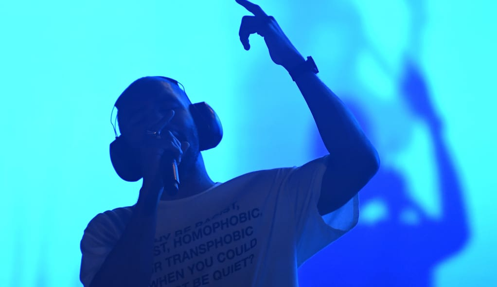 Frank Ocean seems to have debuted a new Skepta collaboration at PrEP+ last night