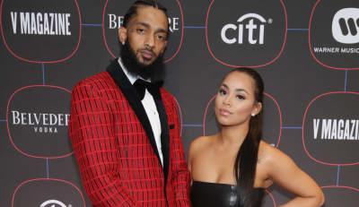 "Lauren London shares personal text to Nipsey Hussle during eulogy: ""I'm never gonna give up on you"""