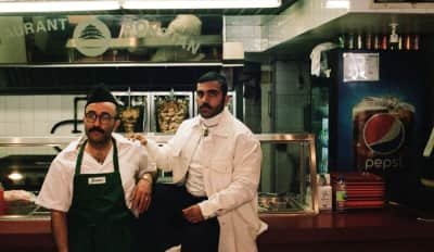 "Narcy and Cheb Moha Are Shawarma Stars In The Video For ""Chobi Bryant"""