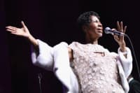 Aretha Franklin is reportedly alert, laughing, and talking