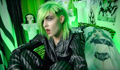 "Dorian Electra's ""Guyliner"" video might warrant a trip to Hot Topic"