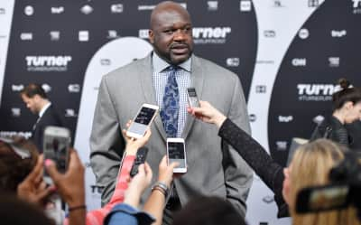 Shaq bodied a 40oz. steak while DJ'ing in Atlantic City