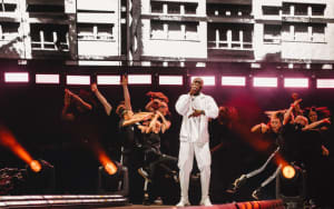 Check out these moments from Stormzy's headlining set at London's Wireless Festival