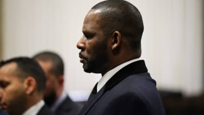 R. Kelly's former manager has been indicted on a terroristic threat