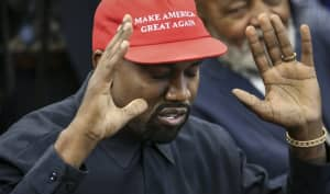 "Twitter flags Kanye West for spreading ""manipulated"" election news"