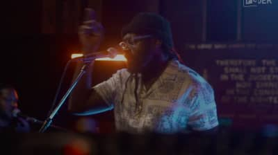 Digital FORT: Watch a set from Tarrus Riley & Blak Soil Band