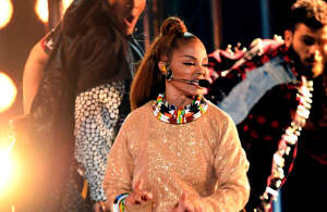 Watch Janet Jackson's first televised performance in nine years