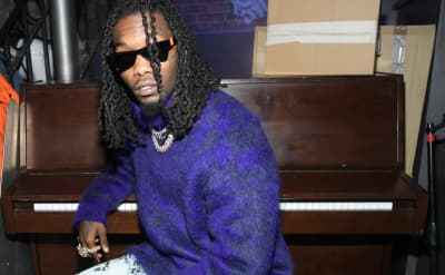 Baby Kulture stars on the cover of Offset's new album Father of 4