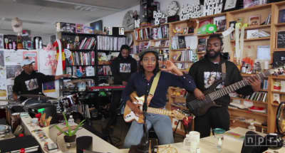 Watch Little Simz's NPR Tiny Desk Concert