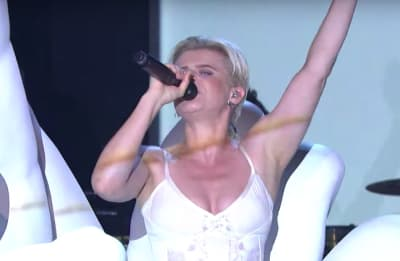 """Watch Robyn perform """"Between the Lines"""" and """"Love is Free"""" on Fallon"""