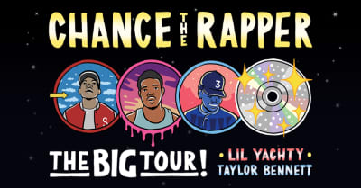 Chance The Rapper adds Lil Yachty and Taylor Bennett to The Big Tour