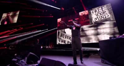 Watch Skepta Give A Nod To Black Lives Matter In His Mercury Prize Performance