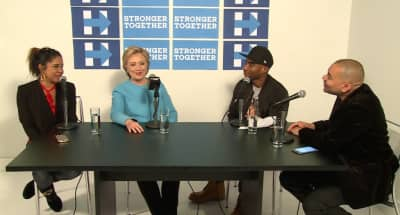Watch Hillary Clinton Discuss Gun Policy, Memes, And Jay Z On The Breakfast Club