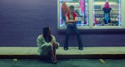 "Kacey Musgraves and Troye Sivan enjoy a wild night in Nashville in their ""Easy"" video"