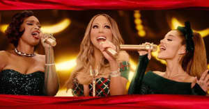 "Mariah Carey teams up with Ariana Grande and Jennifer Hudson for ""Oh Santa!"""