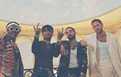 "BURNS, Maluma and Rae Sremmurd join forces for ""Hands On Me"""