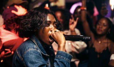 Watch Little Simz's Ferocious Boiler Room Set