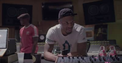 Watch Dame Lillard Hit The Studio With Raphael Saadiq To Record A Song