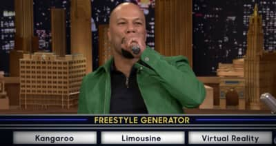 Watch Common Freestyle Against The Roots' Tariq Trotter On Fallon
