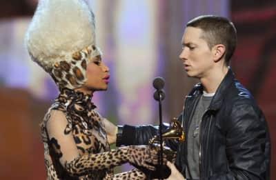 Nicki Minaj and Eminem tease dating rumors