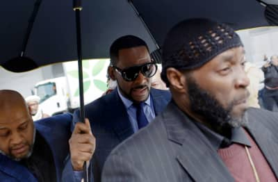 R. Kelly released from jail after someone paid his back child support