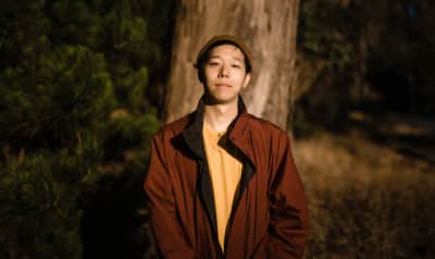 "Giraffage premieres ""Green Tea,"" a groovy collab with Body Language's Angelica Bess"