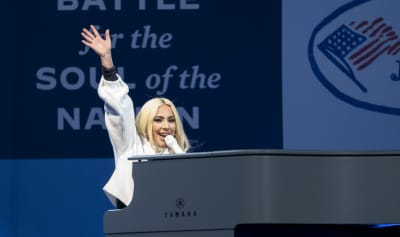 Watch Lady Gaga perform at Joe Biden's final campaign rally