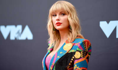 "Taylor Swift previews a re-recorded version of ""Love Story"""