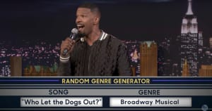 Watch Jamie Foxx Master Different Music Genres On Fallon
