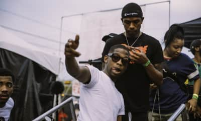 Watch BlocBoy JB hang out at FADER FORT in VR