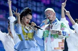 """Watch J Balvin, Rosalía & El Guincho perform """"Con Altura"""" at the Latin Billboard Awards"""