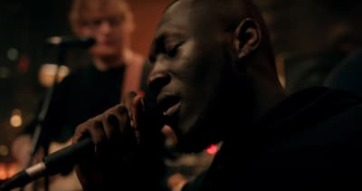 "Stormzy shares acoustic version of ""Blinded By Your Grace Pt. 2"" featuring Ed Sheeran"
