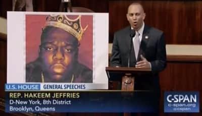 Watch New York Congressman Hakeem Jeffries Rap Biggie Lyrics On House Floor