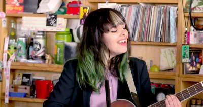 Watch Frances Quinlan's Tiny Desk Concert