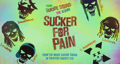 "Lil Wayne, Wiz Khalifa, Ty Dolla $ign, And Logic Share ""Sucker For Pain"" From Suicide Squad"
