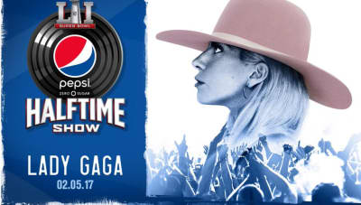 Lady Gaga Officially Confirmed For 2017 Super Bowl Halftime Show